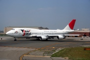 JA8919, Boeing 747-400, Japan Airlines