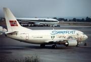 LN-BRU, Boeing 737-500, Braathens SAFE