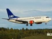 LN-BUC, Boeing 737-500, Scandinavian Airlines System (SAS)