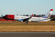 LN-DYD, Boeing 737-800, Norwegian Air Shuttle
