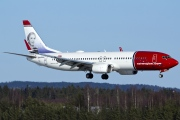 LN-DYN, Boeing 737-800, Norwegian Air Shuttle