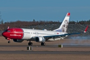 LN-DYT, Boeing 737-800, Norwegian Air Shuttle