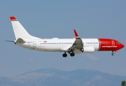 LN-DYX, Boeing 737-800, Norwegian Air Shuttle