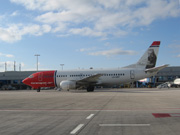 LN-KKF, Boeing 737-300, Norwegian Air Shuttle