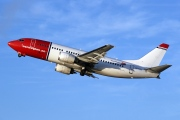 LN-KKG, Boeing 737-300, Norwegian Air Shuttle