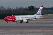 LN-NOZ, Boeing 737-800, Norwegian Air Shuttle