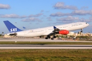 LN-RKG, Airbus A340-300, Scandinavian Airlines System (SAS)