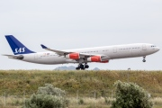 LN-RKP, Airbus A340-300, Scandinavian Airlines System (SAS)