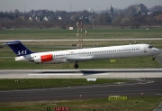LN-ROR, McDonnell Douglas MD-82, Scandinavian Airlines System (SAS)