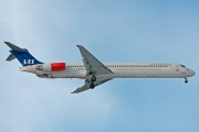 LN-ROX, McDonnell Douglas MD-82, Scandinavian Airlines System (SAS)