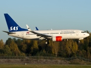 LN-RRA, Boeing 737-700, Scandinavian Airlines System (SAS)