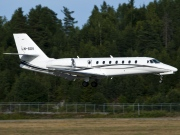LN-SOV, Cessna 680-Citation Sovereign, Sundt Air