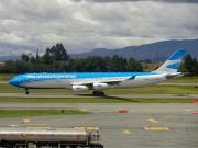 LV-CSE, Airbus A340-300, Aerolineas Argentinas