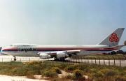 LX-ECV, Boeing 747-200C(SCD), Cargolux