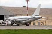 LX-GJC, Airbus A318-100CJ  Elite, Global Jet Luxembourg