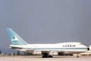 LX-LGX, Boeing 747-SP, Luxair