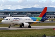 LZ-AOA, Airbus A319-100, Eritrean Airlines