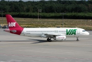 LZ-MDC, Airbus A320-200, Air VIA