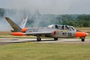 MT35, Fouga CM170 Magister, Belgian Air Force