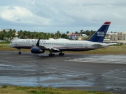 N202UW, Boeing 757-200, US Airways
