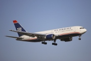 N252AU, Boeing 767-200ER, US Airways