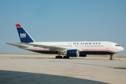 N256AY, Boeing 767-200ER, US Airways