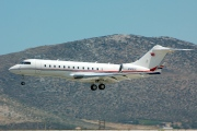 N305CC, Bombardier Global Express, Private