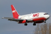 N322DL, Boeing 737-200Adv, Northern Air Cargo - NAC