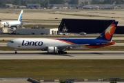 N418LA, Boeing 767-300ERF, Lanco