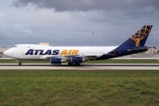 N418MC, Boeing 747-400F(SCD), Atlas Air