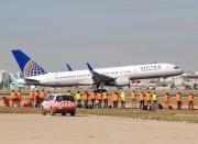 N48127, Boeing 757-200, United Airways