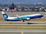 N512AS, Boeing 737-800, Alaska Airlines