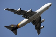 N580UP, Boeing 747-400F(SCD), UPS Airlines