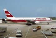 N608TW, Boeing 767-200ER, TWA - Trans World Airlines