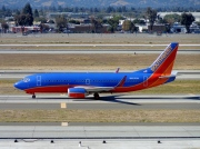 N621SW, Boeing 737-300, Southwest Airlines