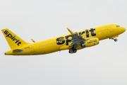 N643NK, Airbus A320-200, Spirit