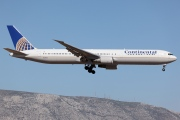 N67058, Boeing 767-400ER, Continental Airlines