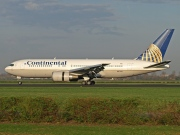 N67158, Boeing 767-200ER, Continental Airlines