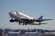 N718BA, Boeing 747-400LCF, Boeing