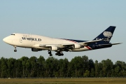 N741WA, Boeing 747-400SF, World Airways Cargo