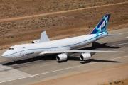 N747EX, Boeing 747-8F(SCD), Boeing