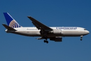 N76151, Boeing 767-200ER, Continental Airlines