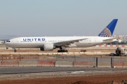 N78002, Boeing 777-200ER, United Airlines