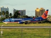 N801SY, Boeing 737-800, Sun Country Airlines