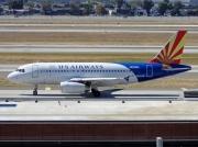 N826AW, Airbus A319-100, US Airways
