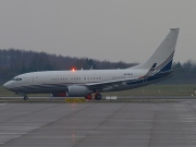 N836BA, Boeing 737-700/BBJ, Private