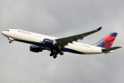 N858NW, Airbus A330-200, Delta Air Lines