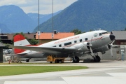 N86U, Douglas C-47A Skytrain, Austrian Airlines (First DC-3 Dakota Club)