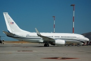 N90R, Boeing 737-700/BBJ, Private