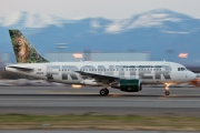 N910FR, Airbus A319-100, Frontier Airlines